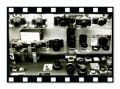 35mm Cameras in Case